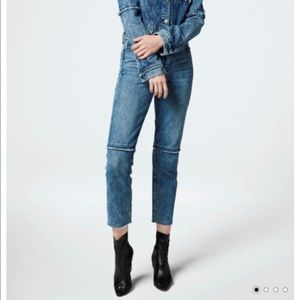 NEW J Brand Ruby high rise crop denim jeans